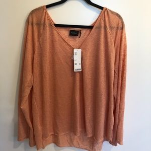 Out From Under Blaire Burnout Henley Top